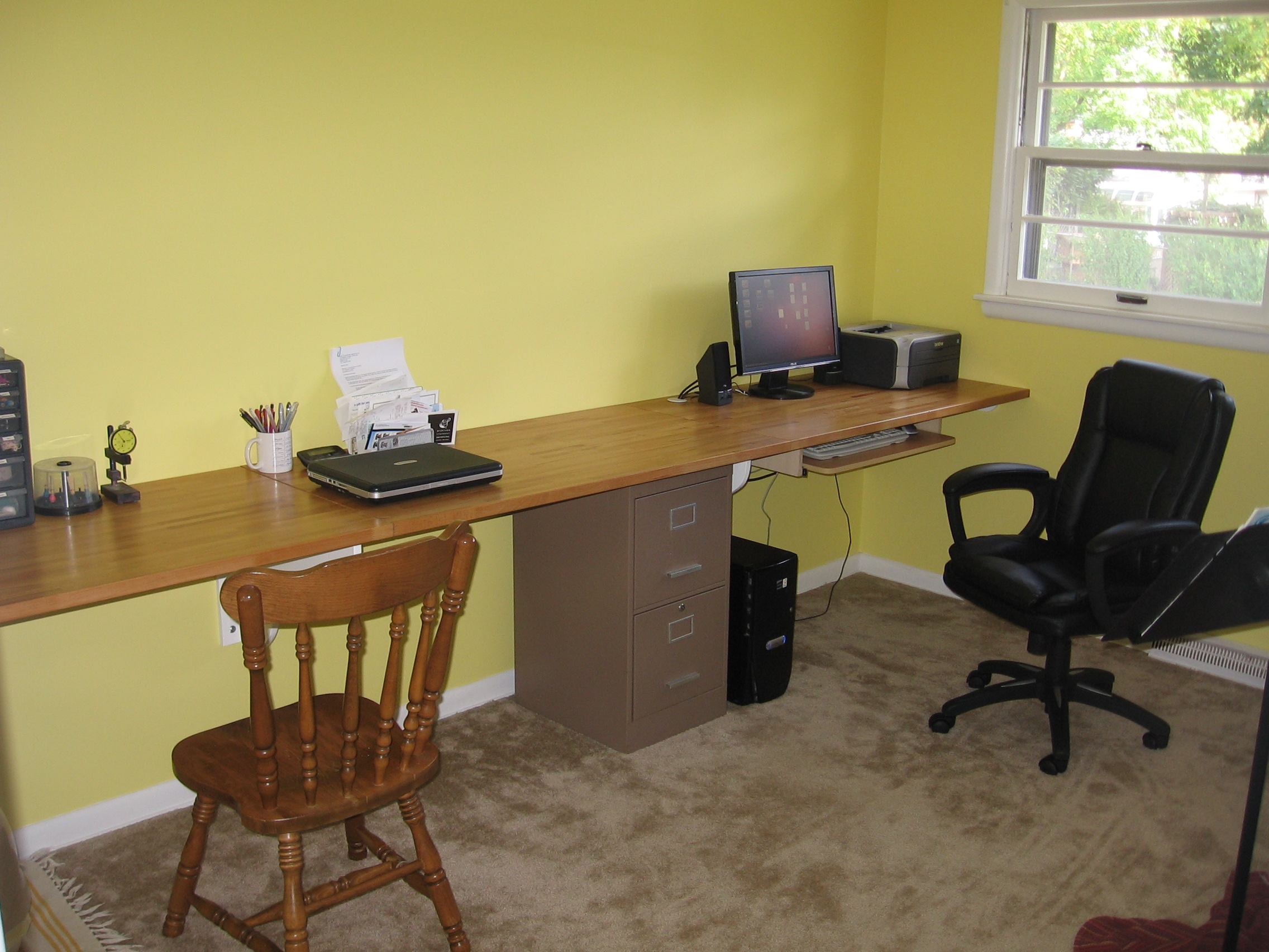 home desks built when built office desk ideas